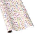 "Caspari Party Candles Gift Wrapping Paper - 30"" x 5' Roll"