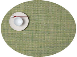 Chilewich Mini Basketweave Oval Dill Placemat
