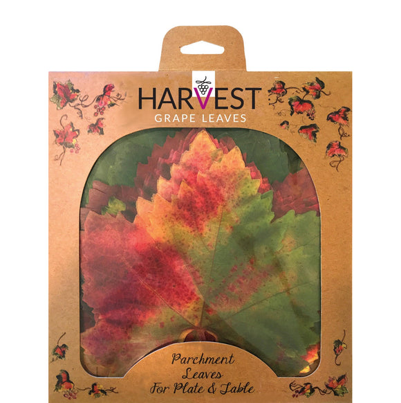 Parchment Cheese Leaves – Grape Variety Pack of 20