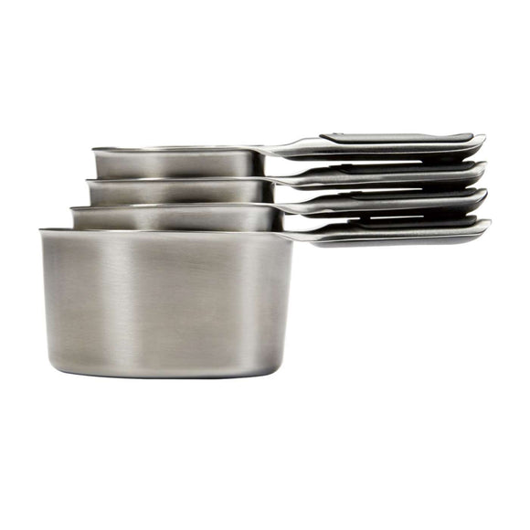 OXO Stainless Steel Measuring Cups - Set of 4