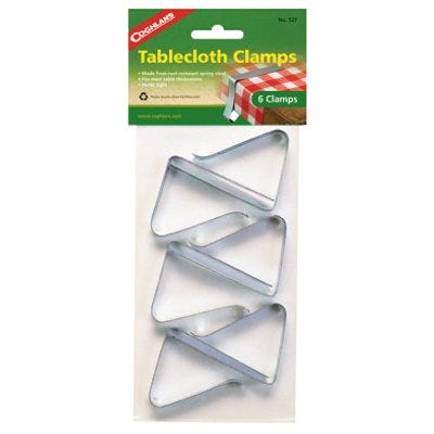 Tablecloth Clamps – Pack of 6