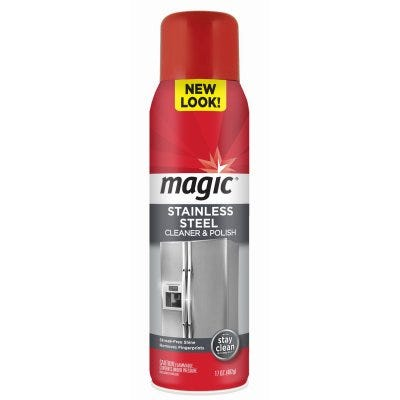Magic Stainless Steel Cleaner – 17oz
