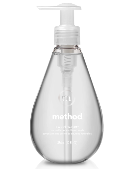 Method Gel Hand Wash - Sweet Water 12oz