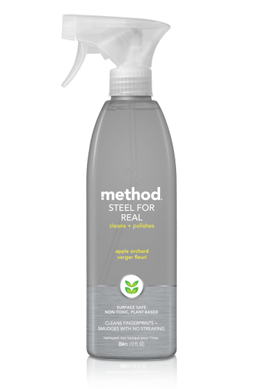 Method Stainless Steel Polish - Apple Orchard 12oz