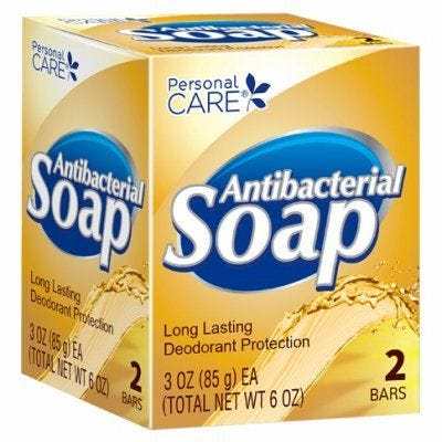 Personal Care Antibacterial Soap – 3oz – 2 Pack