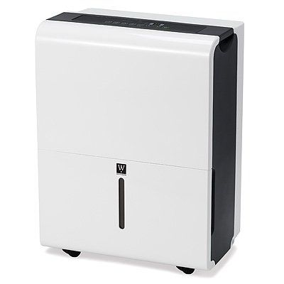 30-Pint Dehumidifier – White