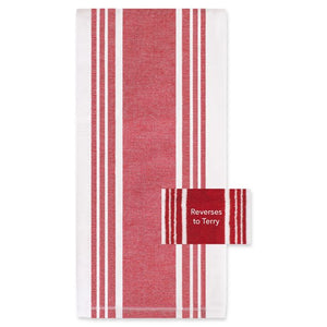 All-Clad Striped Dual Kitchen Towel – Chili