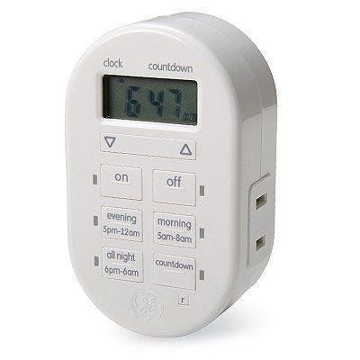 TouchSmart Digital Plug-In Timer