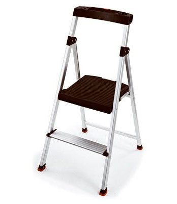 Rubbermaid Aluminum Step Ladder – 2 Step – 3.3Ft