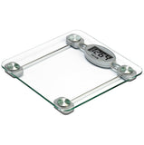 Digital Step-On Bath Scale – Glass