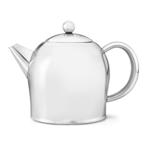 Bredemeijer Santhee Stainless Steel Glossy Teapot – 17 oz