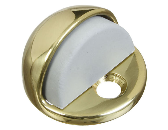 Solid Brass Floor Door Stop – 1 3/4