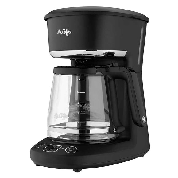 Mr. Coffee 12 Cup Coffee Maker – Black