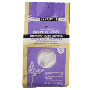 Reefer-Galler Moth Ball Packets, Lavender Scented, 12 oz.