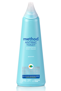 Method Antibacterial Toilet Bowl Cleaner - Spearmint 24oz