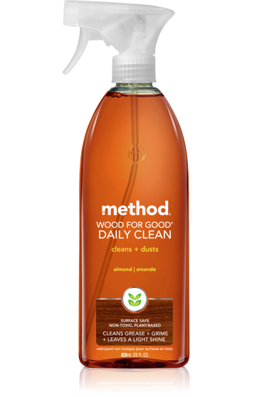 Method Wood For Good Daily Clean - Almond 28oz