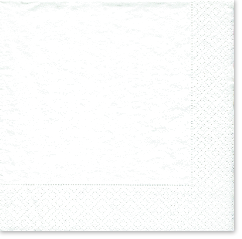 Caspari White Pearl Cocktail Napkins – 20pk