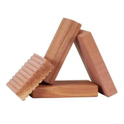 Cedar Solid Milled Cedar Blocks, 4 ct.