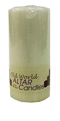 Biedermann & Sons Old World Altar Candles, Ivory
