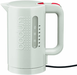 Bodum Bistro Electric Water Kettle – 34oz. – White