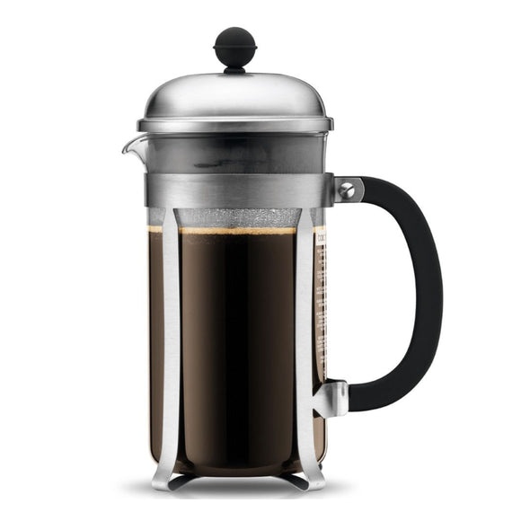 Bodum Chambord French Press Coffee Maker – 3 Cup – Chrome