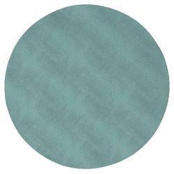 Snakeskin Felt-Backed Round Placemat – Mist