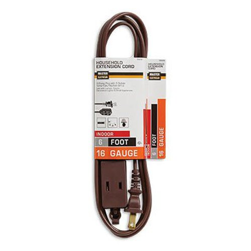 General Purpose Extension Cord, 6'