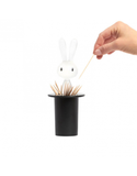 Alessi Magic Bunny Toothpick Holder – Black