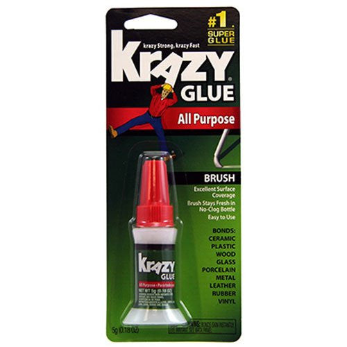 Krazy Glue All Purpose with Brush Applicator