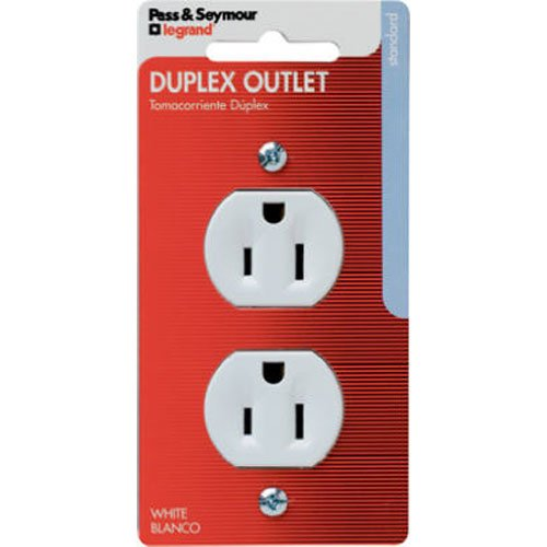Duplex Outlet Receptacle – White