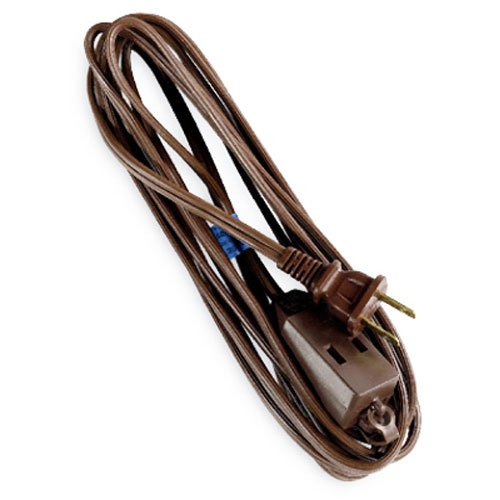 General Purpose Extension Cord, 12' - Brown