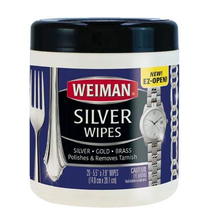 Weiman Silver Wipes – 20 Count