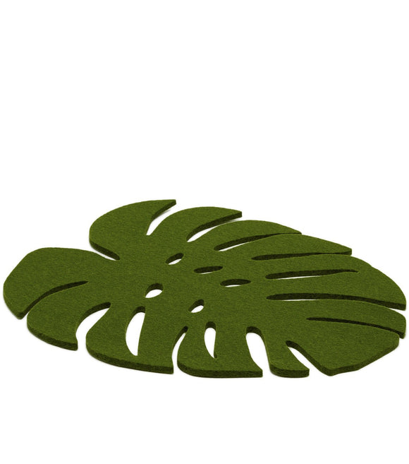 Graf Lantz Monstera Trivet – Large – Loden Green