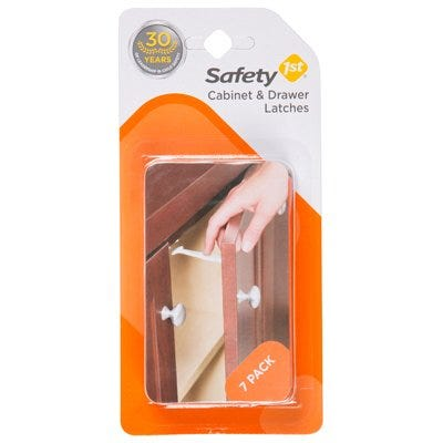 Child Safety Wide Grip Latch – 7-Pack