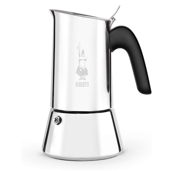 Bialetti Venus Stainless Steel Stovetop Espresso Coffee Maker – 4-Cup
