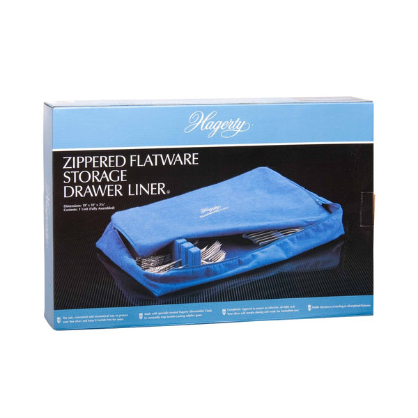 Hagerty Zippered Flatware Storage Drawer Liner