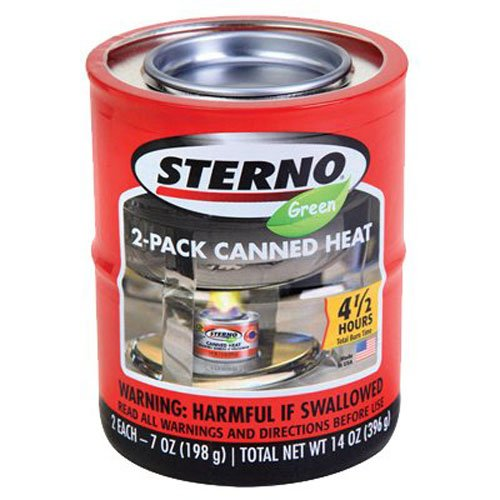 Sterno Entertainment Cooking Fuel, 7 oz, 2 PK
