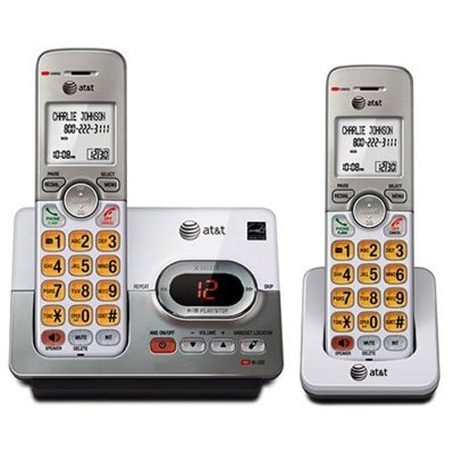 AT&T 2 Handset Cordless Phone & Answering System