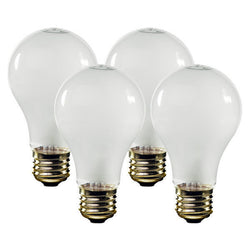 75 Watt Standard A19 Bulbs – 4pk