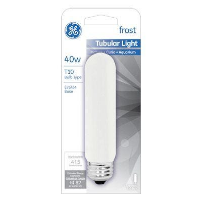 Tubular Light Bulb– Frosted – 40 Watts