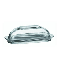 Glass Presentation Butter Dish with Cover