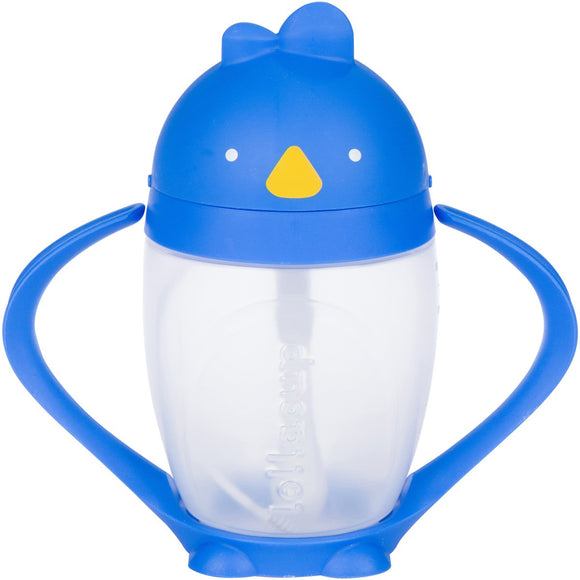 Lollacup – Straw Sippy Cup – Blue