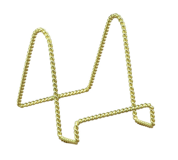 Tripar Twisted Wire Brass Display Stand – Medium