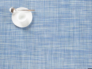 Chilewich Mini Basketweave Placemat – Chambray