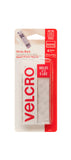 VELCRO® General Purpose Sticky Back Strips – White – 5lb – Pack of 4