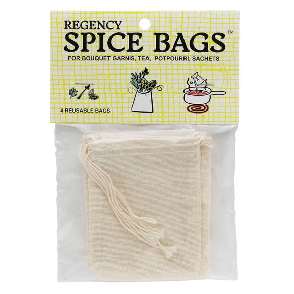 Regency Spice Bag – Set of 4