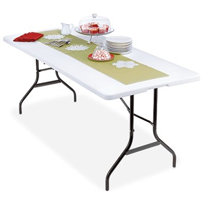 Deluxe Banquet Table, Lightweight, 30 x 72-In.