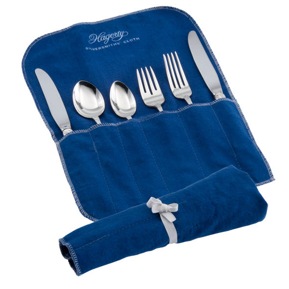 Hagerty Silver Keeper 6-Piece Place Setting Roll