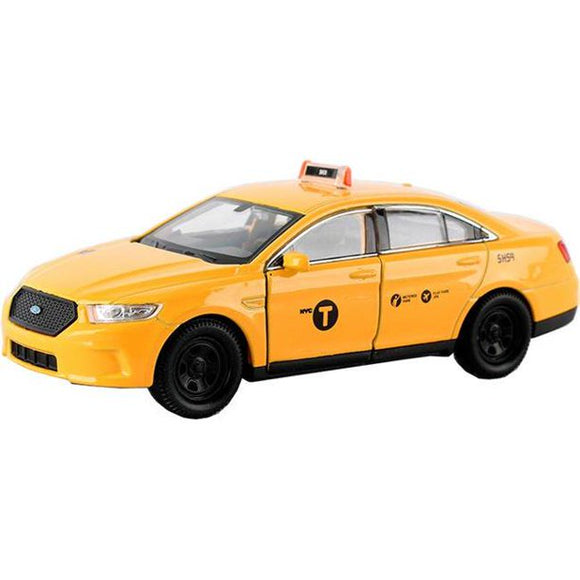 New York City Die-Cast Pullback Taxi