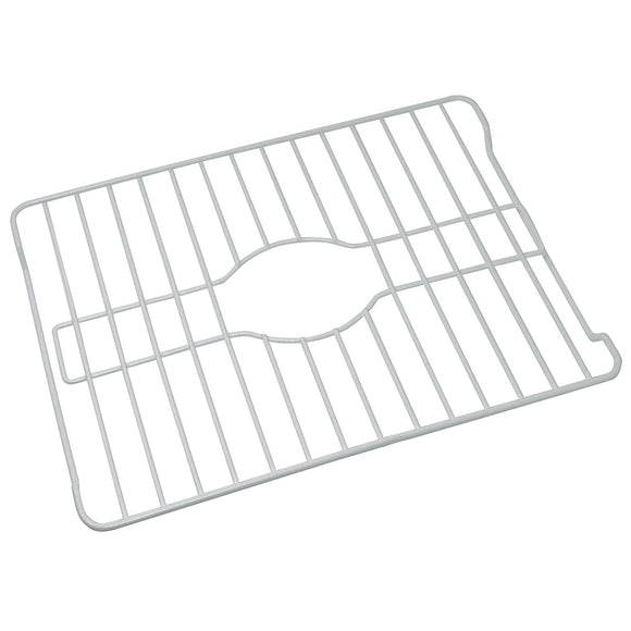 Sink Protector, Coated Steel, Medium, White